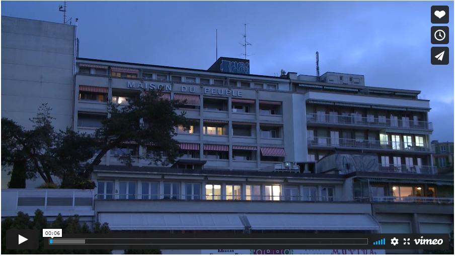 Un film d'Adian Blaser pour montrer celles et ceux qui font la Maison du Peuple